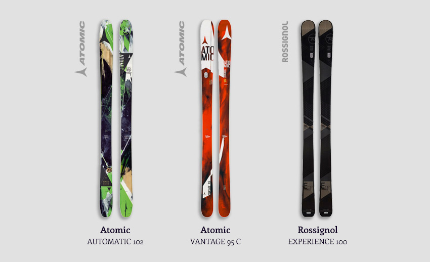Demo Powder Skis