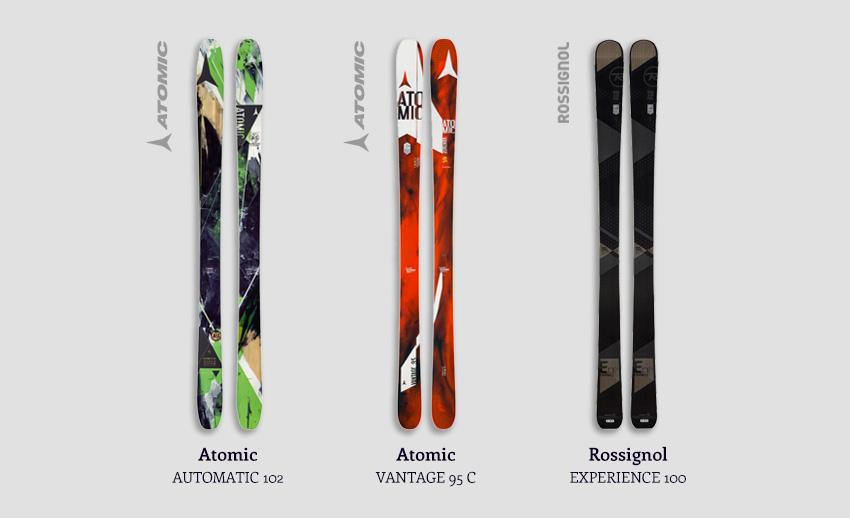 Demo Powder Skis